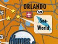 Custom Map of Orlando